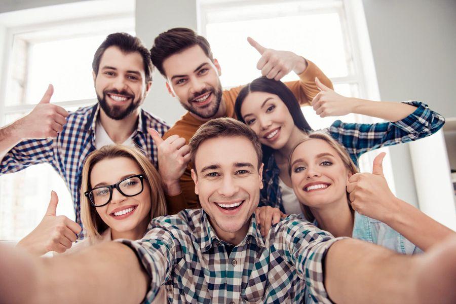 Más empleados felices y en el centro de las organizaciones.