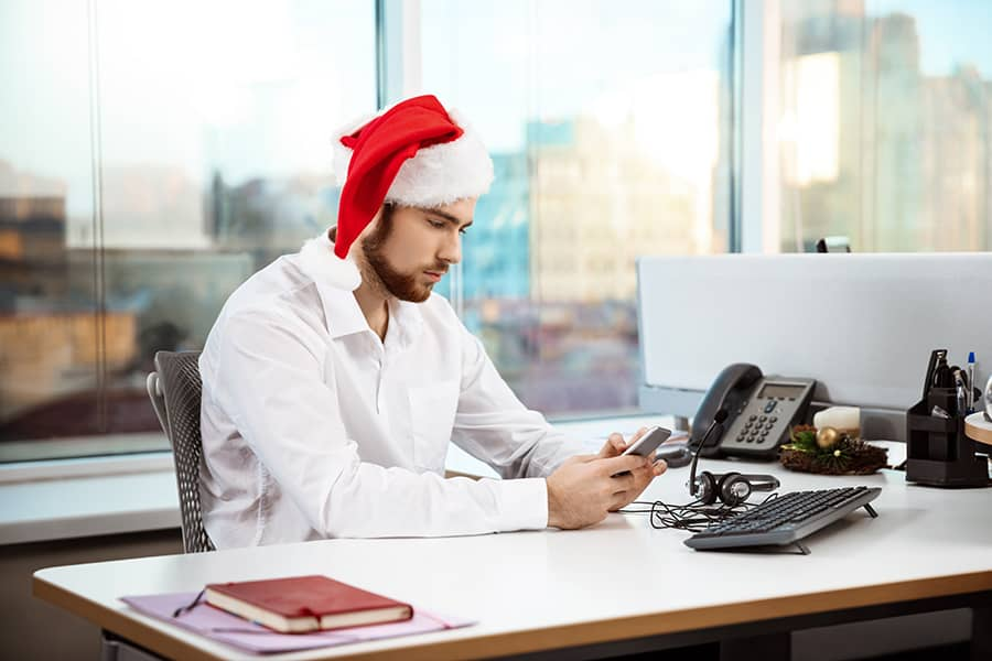Mejorar el clima laboral de los empleados en navidad
