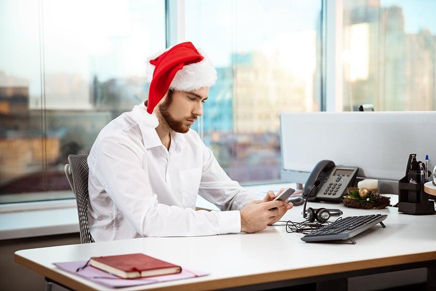 Informa a tus empleados con antelación, para que puedan organizarse en Navidad
