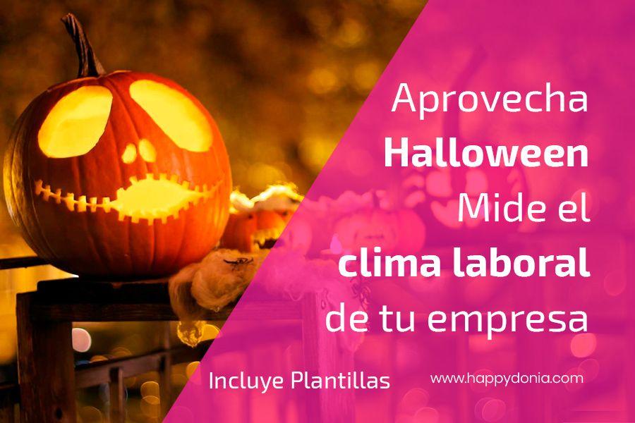 Aprovecha Halloween para medir el clima laboral en tu empresa