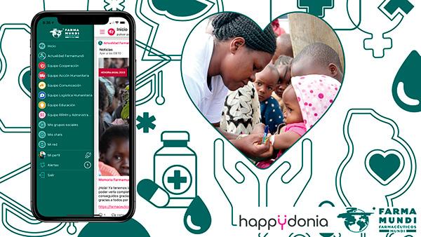 La ONG Farmamundi conectará a su equipo con Happÿdonia